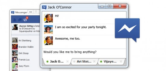 Facebook Chat para Windows